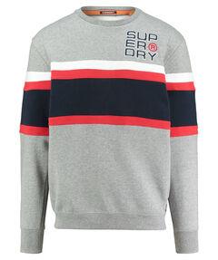 """Herren Sweatshirt """"Applique Weekend Cut & Sew Crew"""" Oversized Fit"""