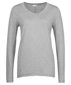 "Damen Pyjama-Oberteil / Loungeshirt ""Yoga"" Langarm"