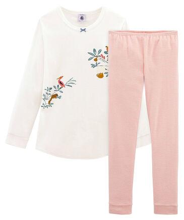 Petit Bateau - Mädchen Kleinkind Schlafanzug