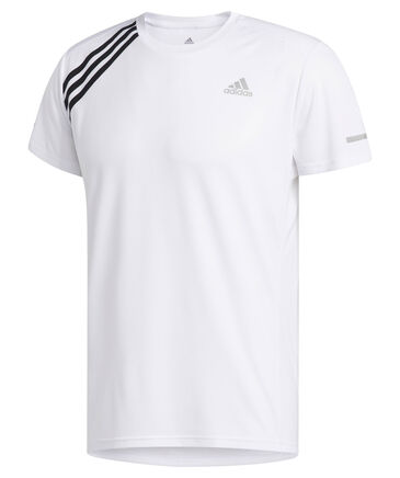 "adidas Performance - Herren Laufshirt ""Run It Tee 3 Stripe"""