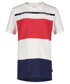 """Jungen T-Shirt """"Striped Coverstitch"""""""