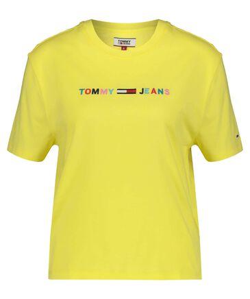 Tommy Jeans - Damen Shirt Kurzarm verkürzt