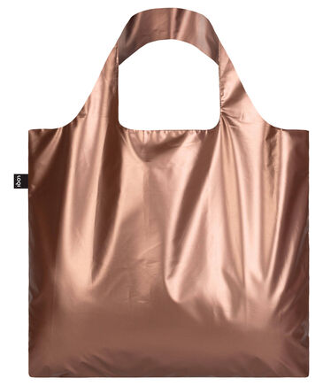 "LOQI - Damen Shopper ""Metallic Matt Rose Gold"""