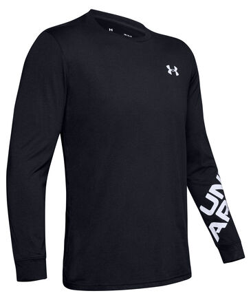 "Under Armour - Herren Shirt ""UA Wordmark Sleeve LS-BLK"" Langarm"