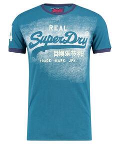 "Herren T-Shirt ""Vintage Logo Duo Ringer"""
