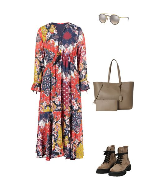 Outfit - Taupe Boho