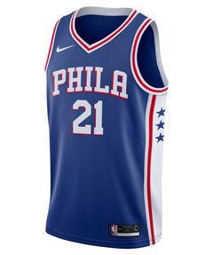 "Herren Basketballtrikot ""Ben Simmons Icon Edition Swingman (Philadelphia 76ers)"" Ärmellos"