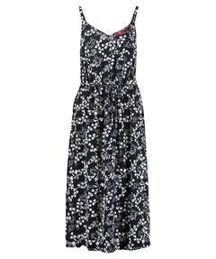 Damen Midi-Kleid Armlos