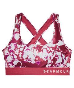 "Damen Sport-BH ""Armour Mid Crossback Printed Bra"""