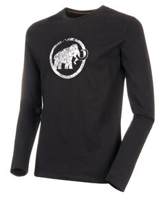 """Herren Shirt """"Logo"""" Langarm"""