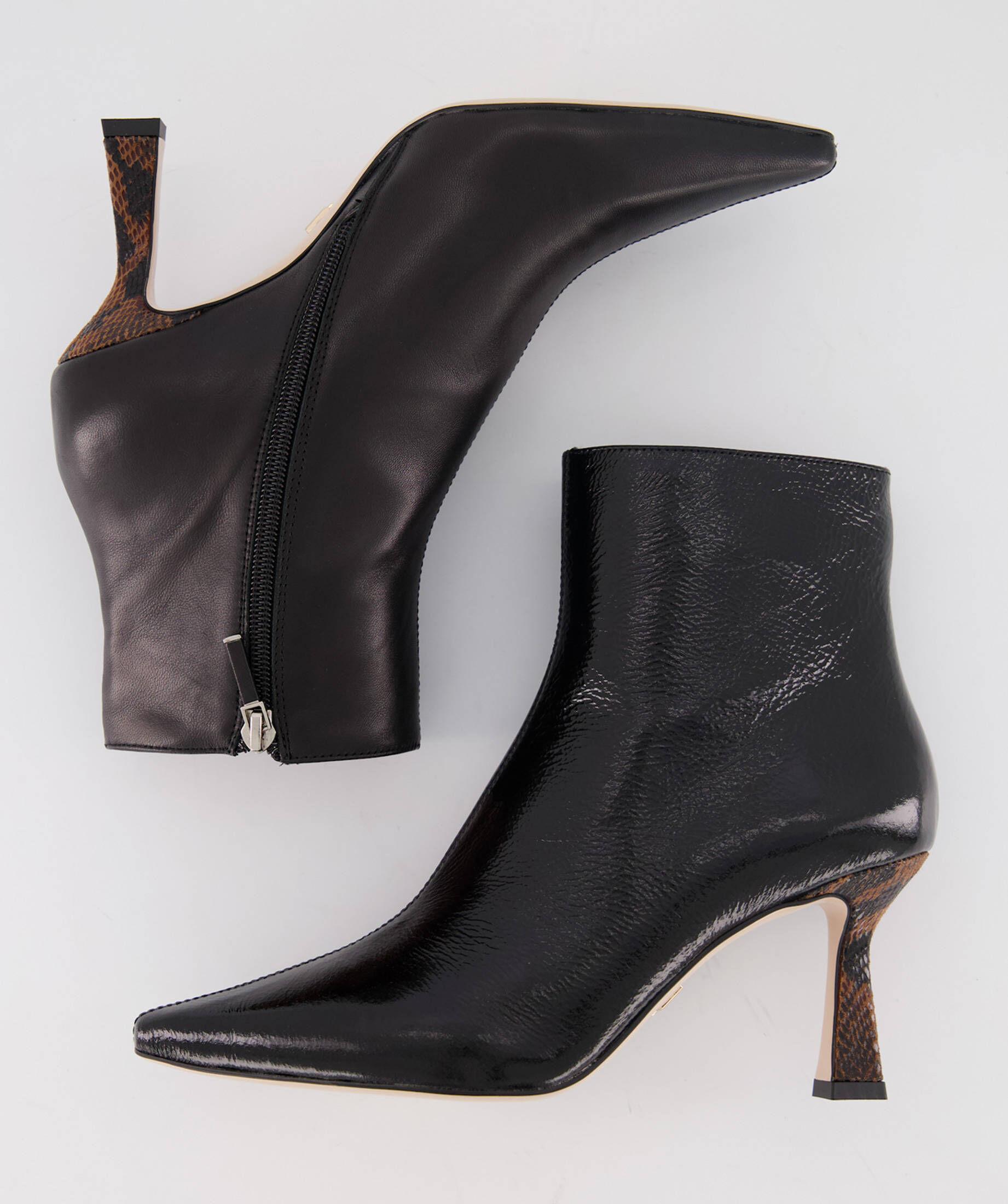Sandalette Leder Lola Cruz Beige Absatzhöhe ca. 6 cm