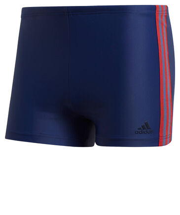 "adidas Performance - Herren Badeshorts ""Fitness 3-Stripes Swim Boxer"""