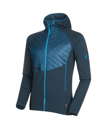 "Mammut - Herren Fleecejacke ""Aconcagua Light Hybrid ML Hooded Jacket"""