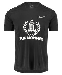 "Herren Laufshirt ""RUN MONNEM"" Kurzarm"
