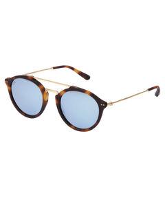 """Sonnenbrille """"Fitzroy Matt Tortoise Blue Mirrored"""""""