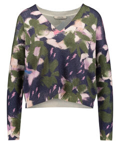 "Damen Pullover ""Floral Softness"" Cropped"