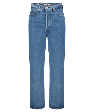 "Levi's® - Damen Jeans ""Ribcage"" Straight Fit verkürzt"