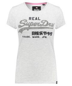 "Damen T-Shirt ""Vintage Logo Rhinestone Entry"""