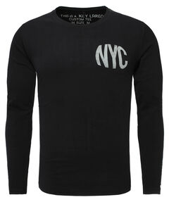 "Herren Shirt ""MLS District Round"" Langarm"
