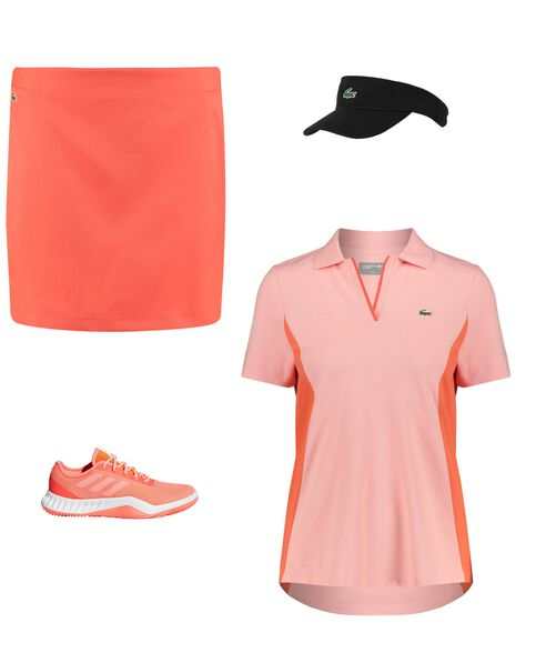 Outfit - Sportlich in apricot