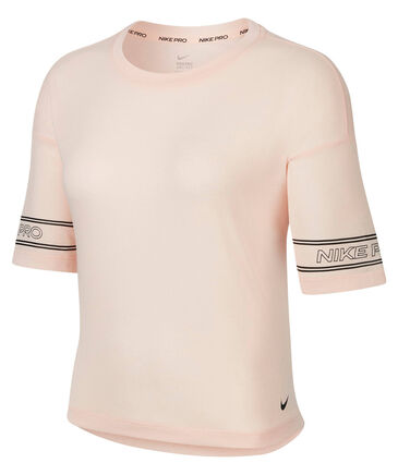 Nike - Damen Trainingsshirt Kurzarm