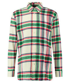 "Herren Flanell-Hemd ""Relaxed Blown Up Check Shirt"" Relaxed Fit Langarm"