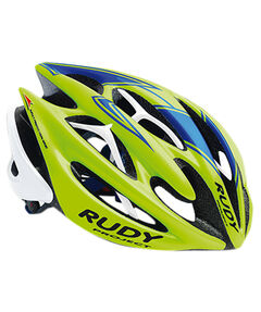 Fahrradhelm Sterling Lime Fluo - Blue (Shiny)