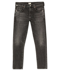 "Damen Jeans ""Elsa"" Mid Rise Slim Fit Crop"