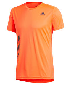 "Herren Laufshirt ""Run It Tee PB 3 Stripes"""