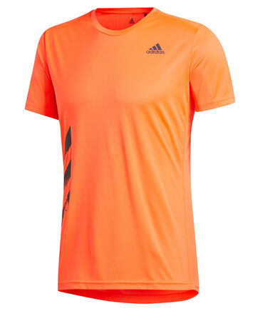 "adidas Performance - Herren Laufshirt ""Run It Tee PB 3 Stripes"""