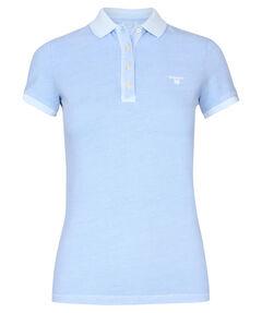 "Damen Poloshirt ""Sunbleached Piqué"" Kurzarm"