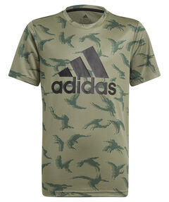 "Jungen Trainingsshirt ""Designed To Move Camouflage"" Kurzarm"