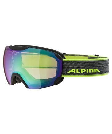 "Alpina - Skibrille ""Pheos QMM"" black matt QMM green sph."