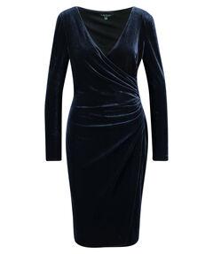Damen Abendkleid Langarm