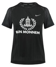 """Damen Laufshirt """"RUN MONNEM"""" Kurzarm"""