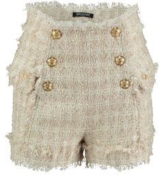 Damen Tweed-Shorts