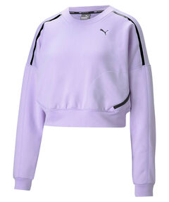 """Damen Sweatshirt """"Train Zip Crew Sweatshirt"""""""