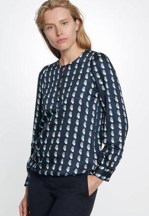 Seidensticker - Damen Bluse Langarm