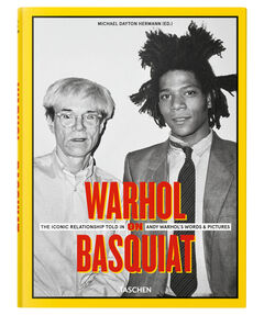 """Buch """"Warhol on Basquiat. An Iconic Relationship in Andy Warhol's Words and Pictures"""""""