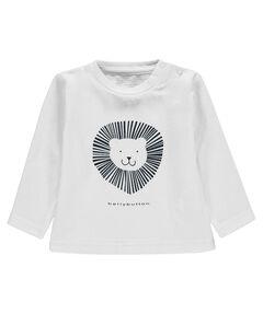 "Jungen Baby Shirt ""Löwe"" Langarm"