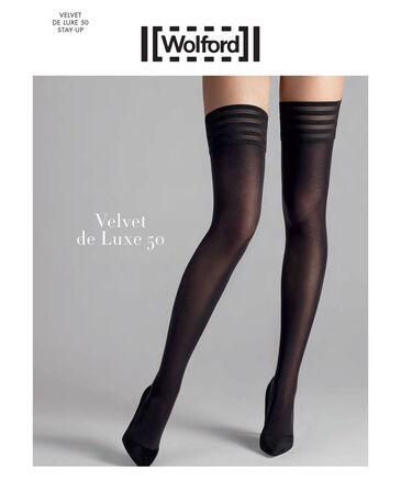 "Wolford - Damen Strümpfe ""Velvet de Luxe 50 Stay-Up"""