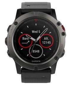 """GPS-Multifunktionsuhr """"fenix 5X Saphir"""" grau/schwarz"""