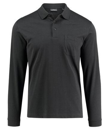 Ragman - Herren Poloshirt Langarm
