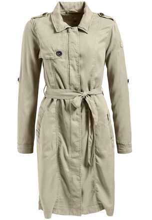 "khujo - Damen Trenchcoat ""Mituvia with Belt"""