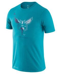 """Herren Basketballshirt """"NBA Hornets Logo Jordan Dri-Fit"""""""
