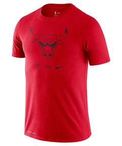 """Herren Basketball T-Shirt """"NBA Bull Logo"""""""