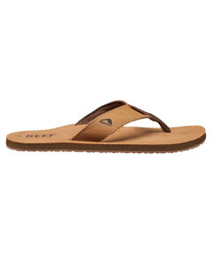"Herren Zehensandalen ""Leather Smoothy"""