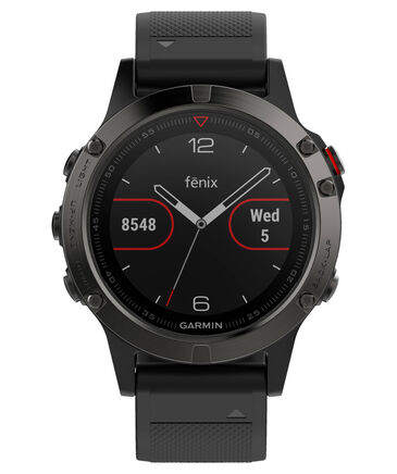 """Garmin - GPS-Multifunktionsuhr """"fenix5"""" grau/schwarz"""