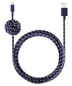 """Ladekabel """"Night Cable-Lightning Navy Nautical"""