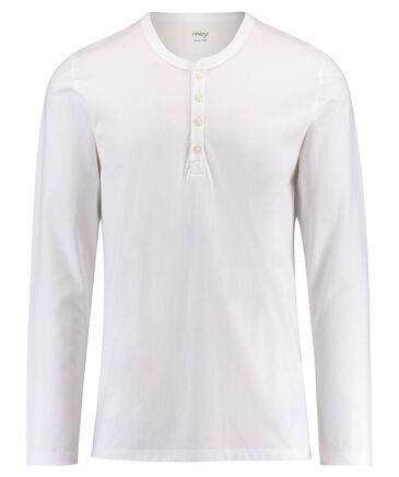 Mey - Herren Pyjama-Shirt Langarm